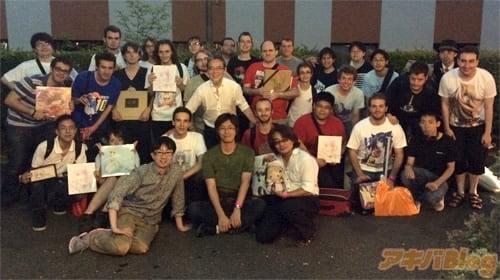 フランスのKeyファンとの懇親会は、クイズ大会などを開催し、楽しいイベントに
